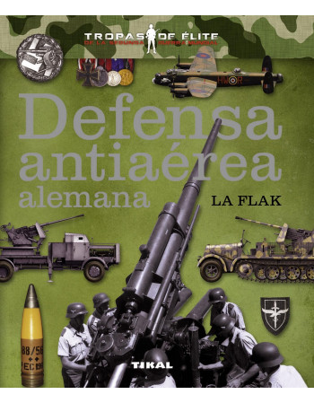 Defensa antiaérea alemana....