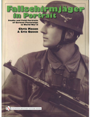 Fallschirmjäger in portrait