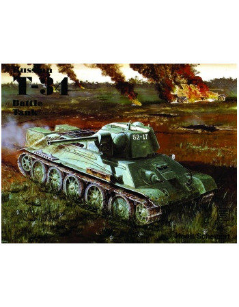 The Russian T-34 Battle Tank